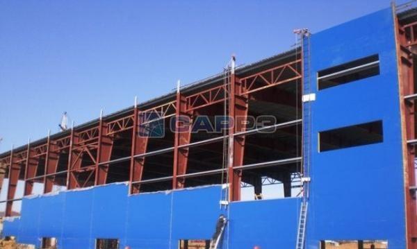 Металлические опорные конструкции этажерочного типа