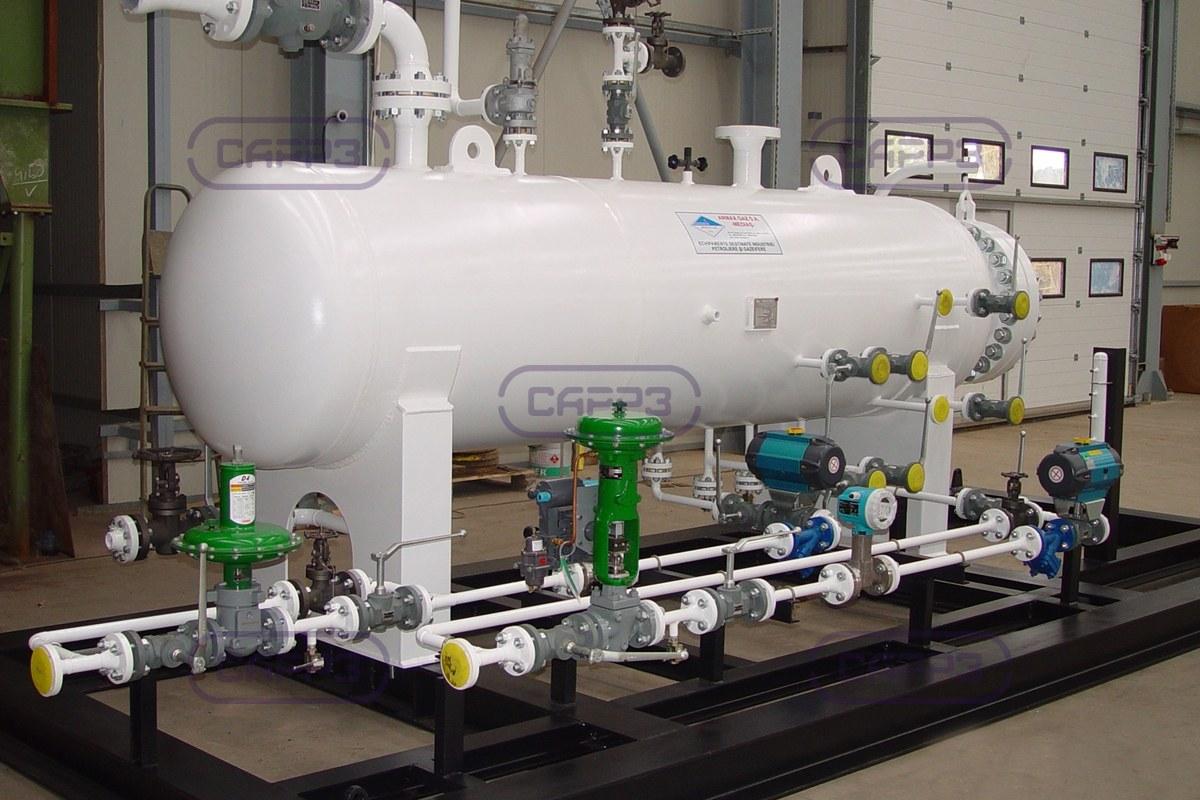 газовый сепаратор схема обвязки