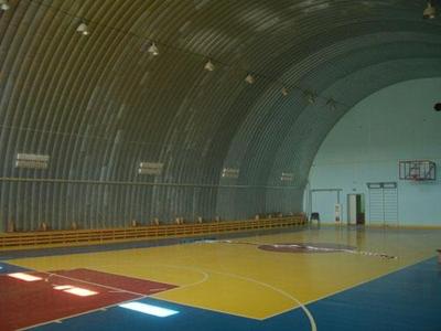 Бескаркасные спортивные сооружения
