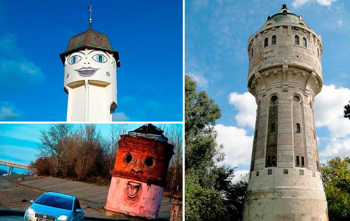 Дымоход водонапорную башня