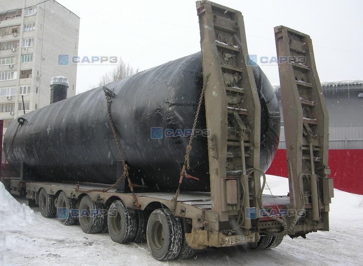 Отгрузка шести сосудов СУГ-50 м3