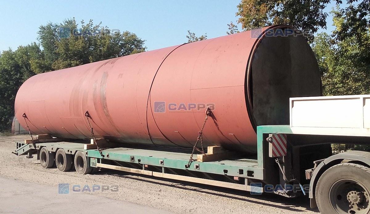 Отгрузка РВС-1000 м3 с Саратовского резервуарного завода