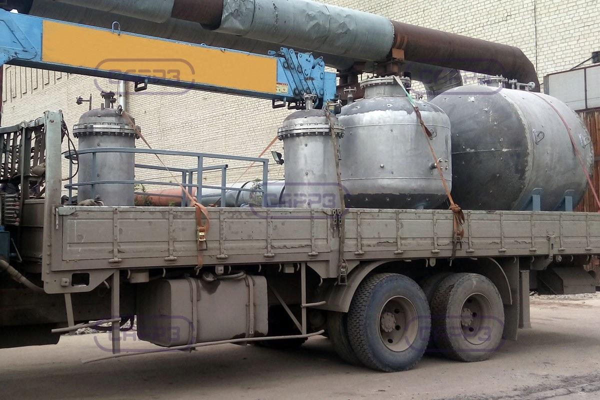 Отгрузка аппарата ВЭЭ в п. Зоринское
