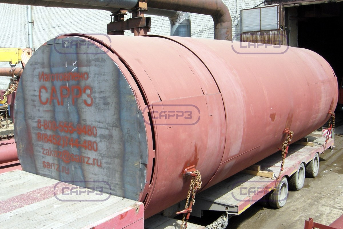 Отгрузка стенки вертикального резервуара РВС-1000