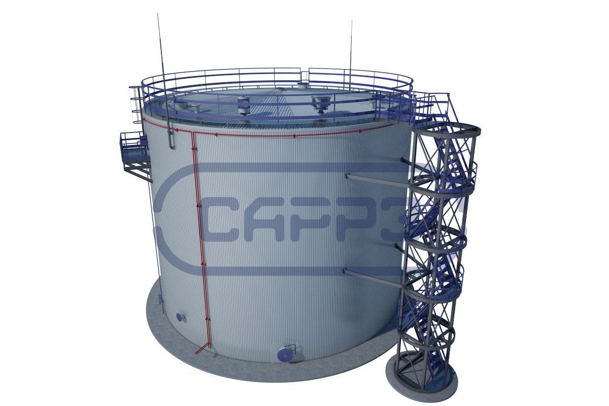 схема предприятия хранения нефти
